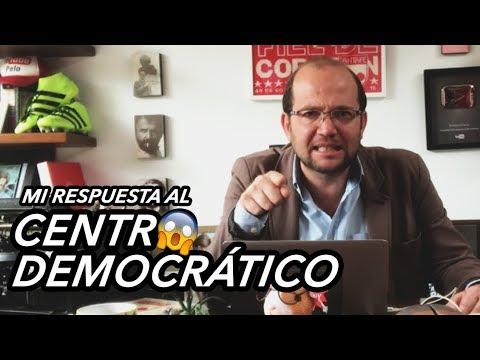 COMUNICADO: MI RESPUESTA AL CENTRO DEMOCRÁTICO
