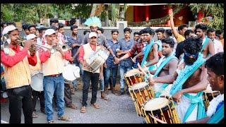 താരക പെണ്ണാളെ കാതിരാടും മിഴിയാളേ...നാടൻപാട്ട് Fusion | Kalakaran Singarimelam VS Matha Band Troop