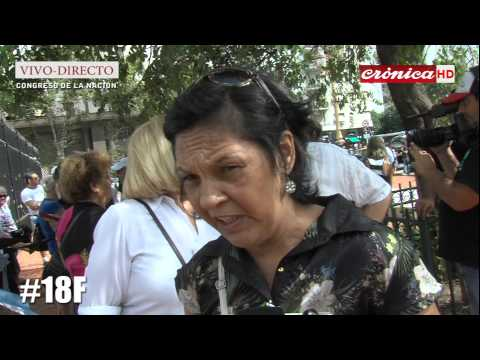 Crónica Web TV [EN VIVO]  desde el 18F