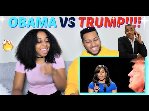 Donald Trump vs. Barack Obama | RAP BATTLE! By Azerrz REACTION!!!
