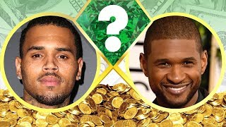 WHO'S RICHER? - Chris Brown or Usher? - Net Worth Revealed! (2017)