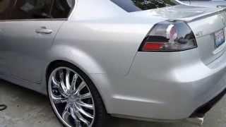 09 Pontiac G8 on 24s