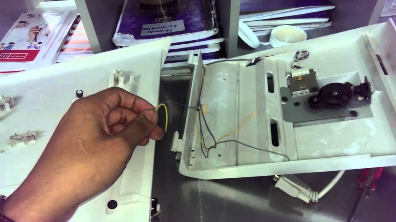 Reparacion De Sensor De Bandeja De Salida Xerox Cq 9303