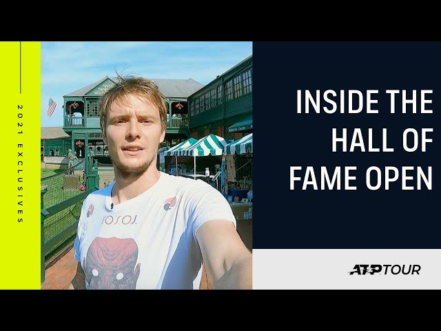 Newport History: Tour The International Tennis Hall Of Fame