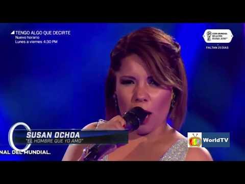 #Susan #Ochoa interpreta El Hombre que Yo Amo en los cuatro finalistas