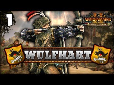 THE HUNTSMARSHAL RISES! Total War: Warhammer 2 - Empire Campaign - Wulfhart #1