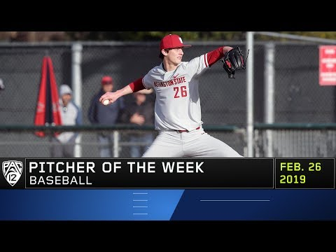 WSU's Brandon White shines in first career start to win Pac-12 Baseball Pitcher of the Week award