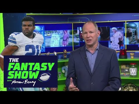 Ezekiel Elliott's Suspension Affects His Fantasy Value | The Fantasy Show With Matthew Berry | ESPN