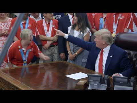 President Trump Welcoming Team USA for the 2019 Special Olympics World Games