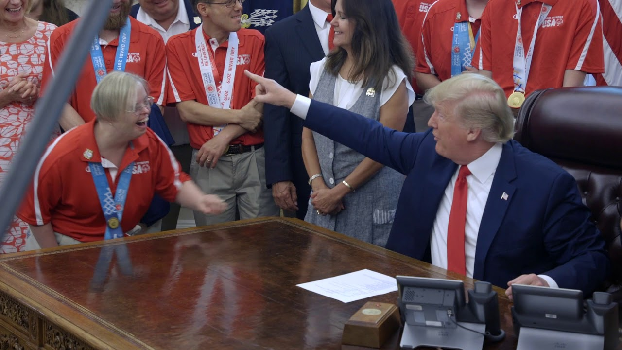 The White House President Trump Welcoming Team USA for the 2019 Special Olympics World Games