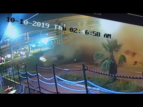 Errol Spence, Jr. crash caught on camera