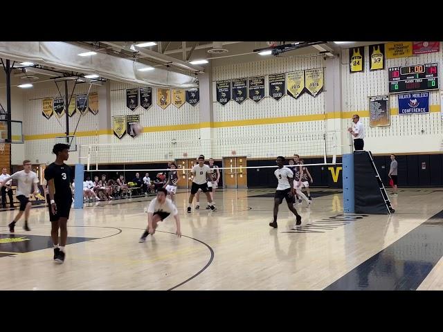 2019 NJ Boys Volleyball, South Brunswick vs Old Bridge Game1