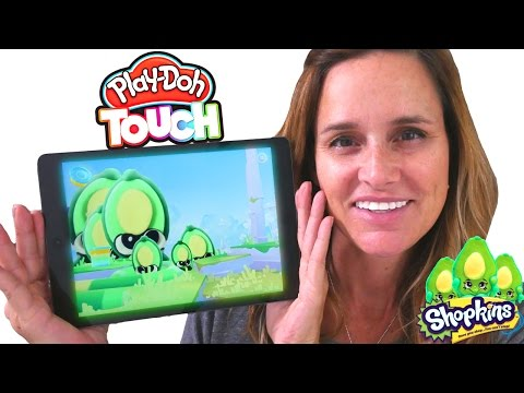 Play Doh Touch Shape To Life Studio Making Shopkins Come To Life Gaming App