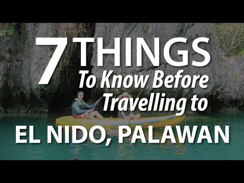 7 Things To Know Before Travelling to El Nido Palawan