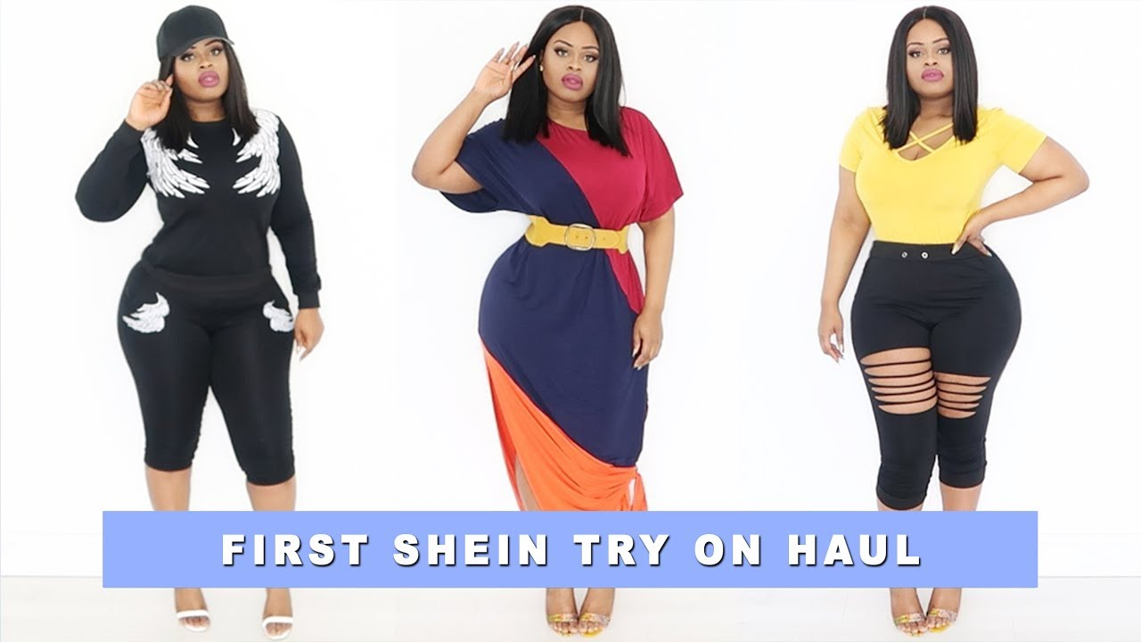 0fa197258b Plus size | Curvy Girl Shein Try On Haul | Edee Beau - YouTube