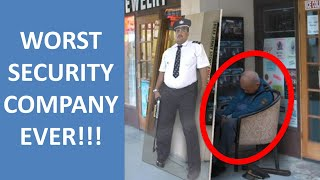 The WORST Security Company We Ever HIRED!!!
