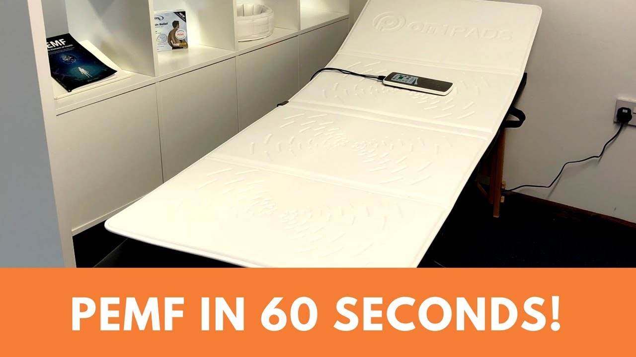 Learn how to use the OMI full body PEMF therapy mat in 60 seconds!