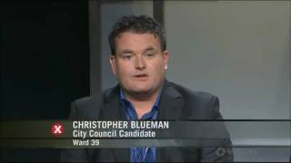 Christopher Blueman Municipal Councillor Local Politics City of Toronto Election 2014