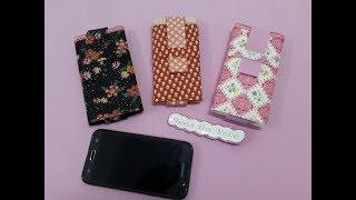 Capinha para celular feito de tecido e EVA – Muito fácil de fazer