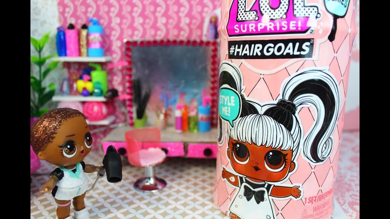 Куклы ЛОЛ #HairGoals. Новый стилист в Cалоне красоты ...