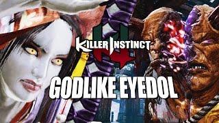 THIS GODLIKE EYEDOL!  Shin Hisako - Online Ranked: Killer Instinct 2017