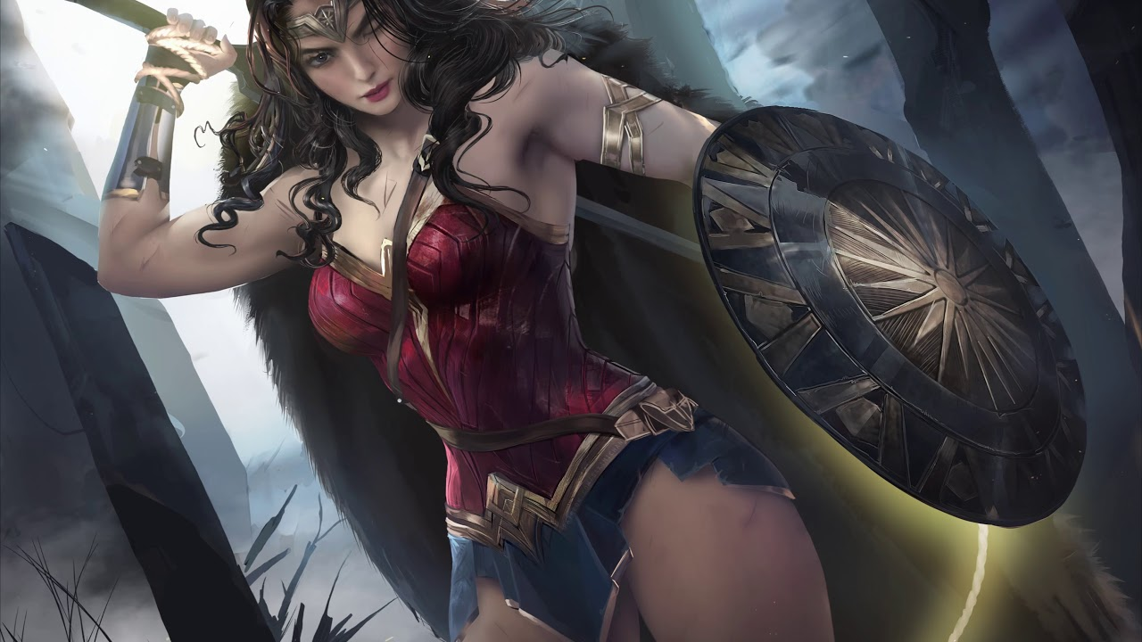 Sakimichan Wonderwoman Login Screen