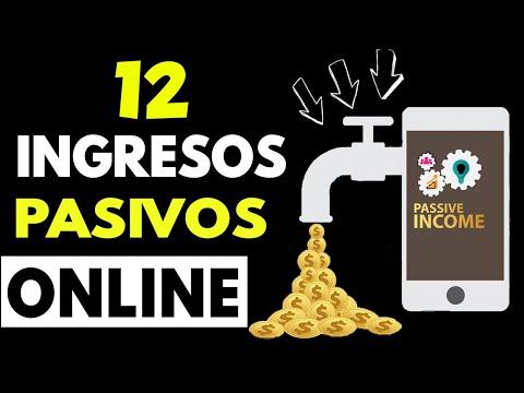 12 Ideas de Ingresos Pasivos Online Más Rentables para Crear en Internet