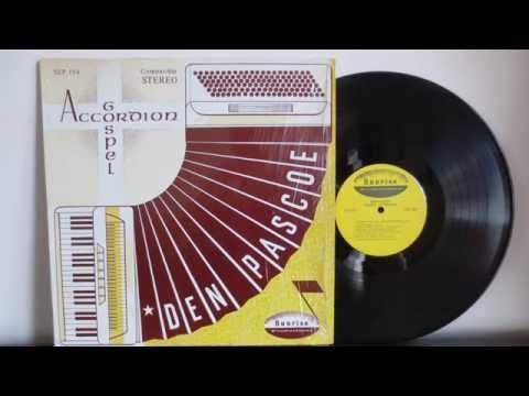 Dennis Pascoe - Gospel Accordion - Sunrise Productions SLP 194 -  Rare Xsian Gospel Canada