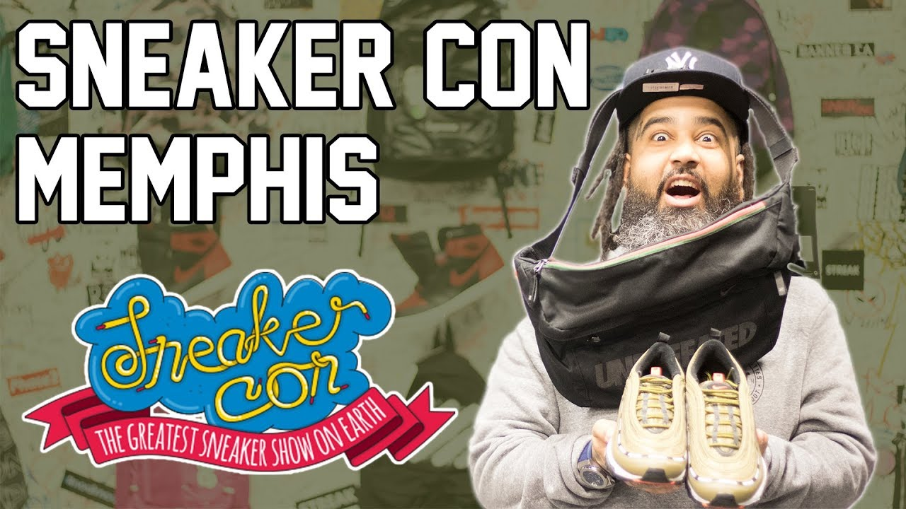 SNEAKERCON MEMPHIS (I COPPED SOME HEAT THERE!!!!) - YouTube 342c3743c