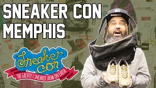 SNEAKERCON MEMPHIS (I COPPED SOME HEAT THERE!!!!)