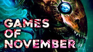 Top 10 NEW Games Of November 2017