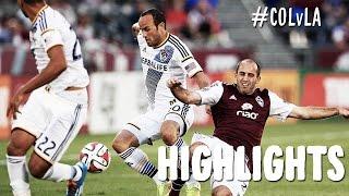 HIGHLIGHTS: Colorado Rapids vs LA Galaxy | August 20, 2014