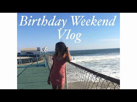 Birthday Vlog 🎊🎉🎉 ~Atlantic City