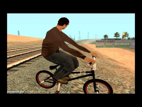 GTA SAN ANDREAS:BMX OLDSCHOOL