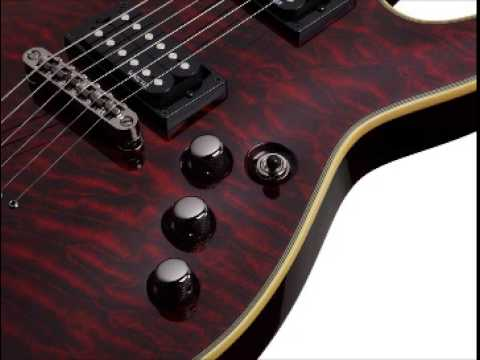 hqdefault schecter omen extreme 6 electric guitar (black cherry) youtube Schecter Diamond Series Wiring Diagram at gsmportal.co