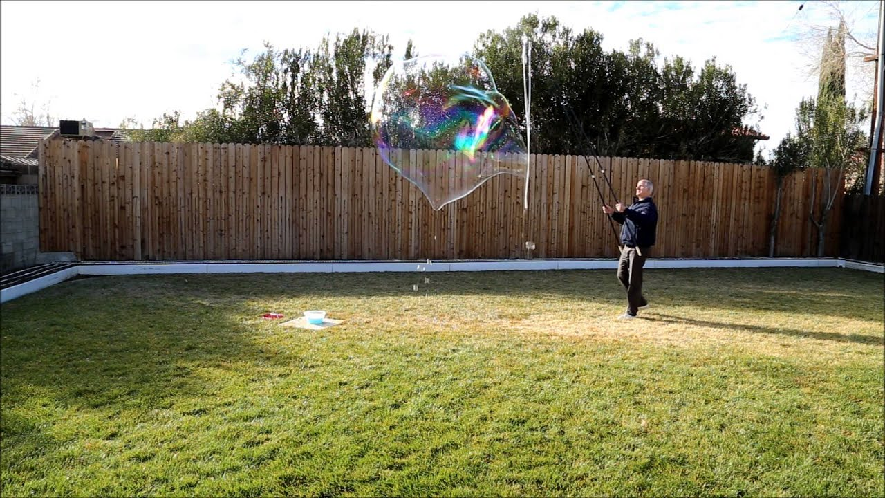 big bubble duration test youtube