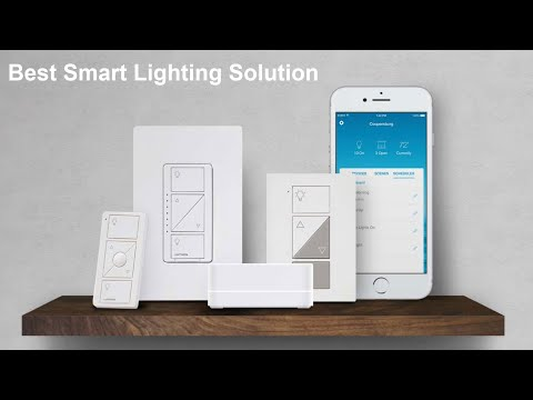 Lutron Caseta Wireless  - Best Smart Lighting