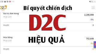 ACCESSTRADE|Cách chạy chiến dịch D2C hiệu quả