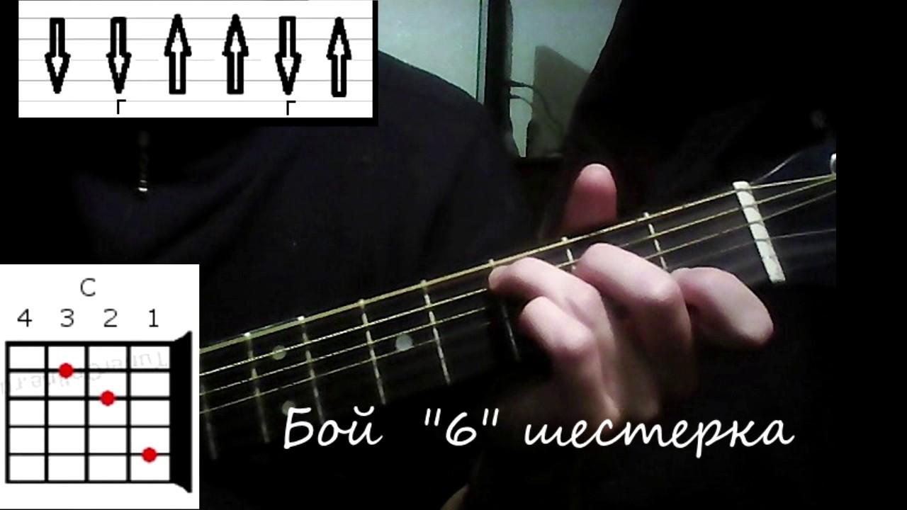 "Разбор на гитаре ""Люди больше не услышат"" ногу свело(АККОРДЫ,БОЙ)"
