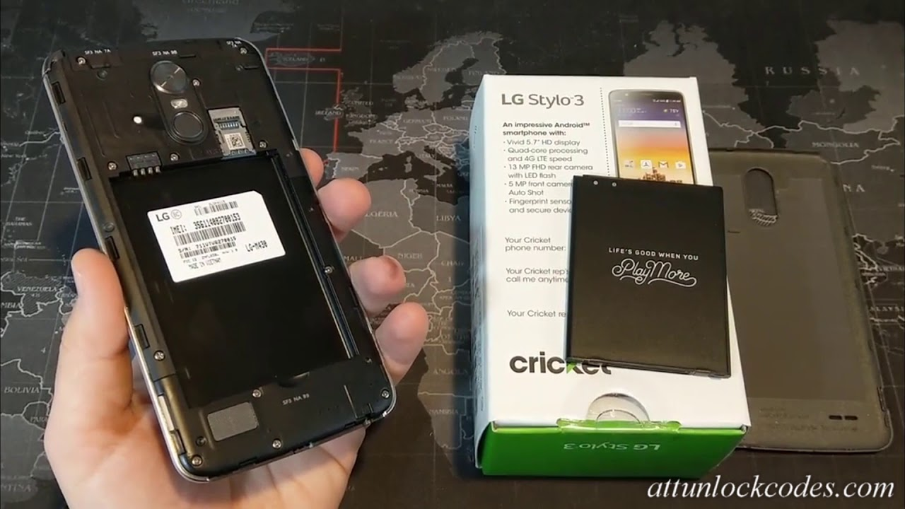Want to get Cricket LG STYLO 3 Unlock Code For Free - visit :  attunlockcodes com