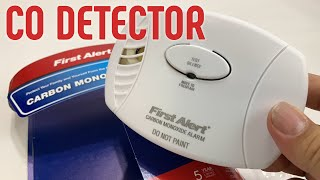 First Alert CO400 Battery Operated Carbon Monoxide Detector Review