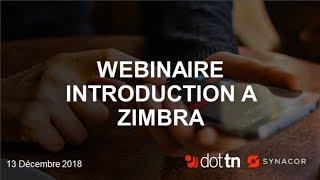 [Webinaire] Introduction a Zimbra thumbnail