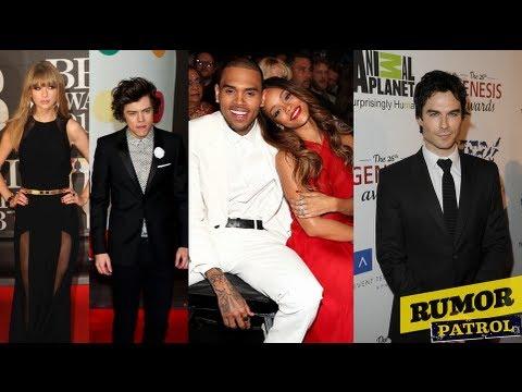 Rihanna And Chris Brown Engaged? Harry Styles Talks Taylor Swift! Ian Somerhalder's Ex-Girlfriends!