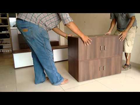 Furnibox make shift furniture concept.