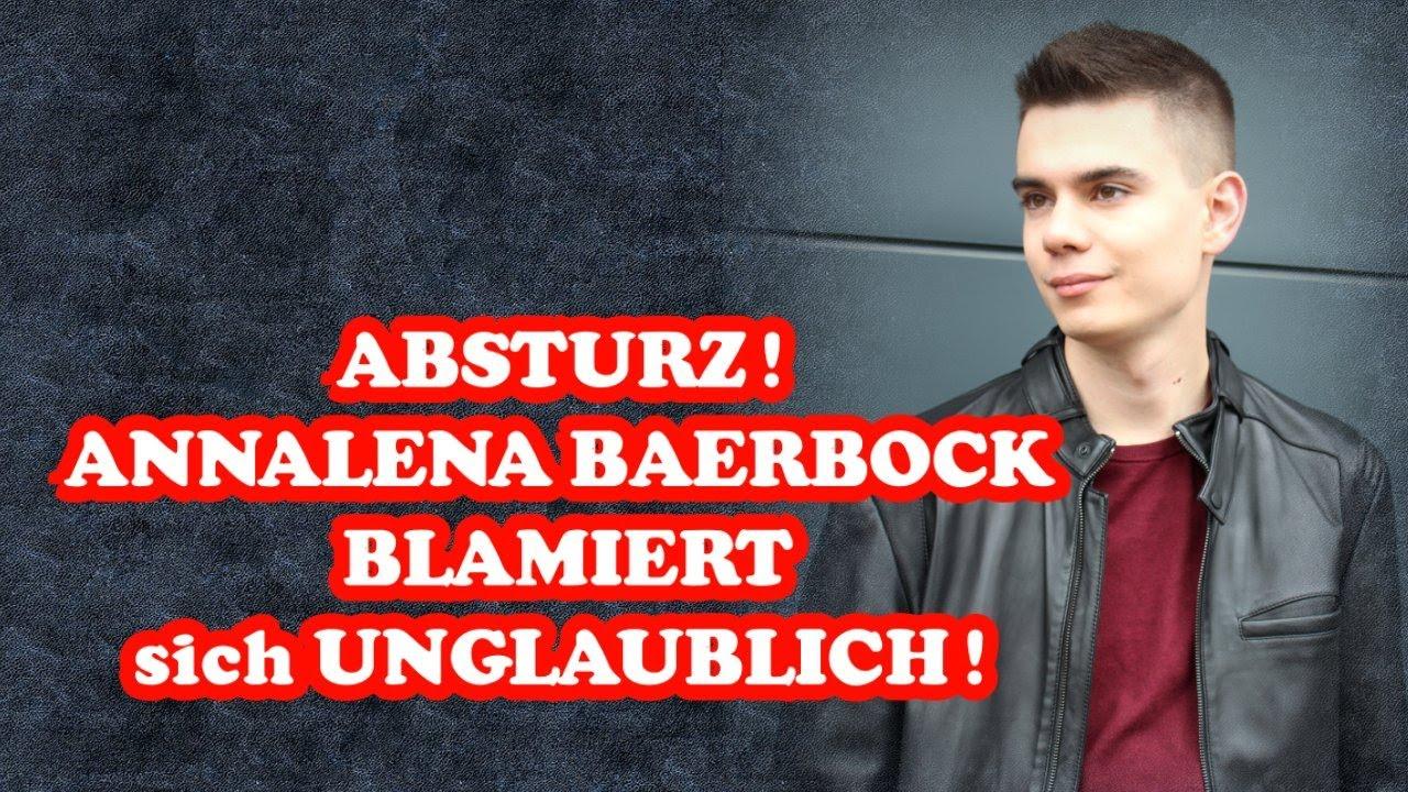 ABSTURZ! ANNALENA BAERBOCK BLAMIERT sich UNGLAUBLICH!
