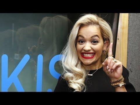 Rita Ora talks Calvin Harris & Conchita at KISS FM (UK)