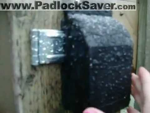 Lock Covers In Wet Winter Weather Youtube