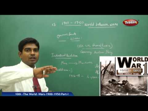 The World -Wars-1900-1950-Part-I- AP & TS Class 10th State Board Syllabus Social Studies