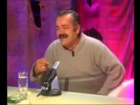 Old spanish man laughing hard (Very funny laugh)