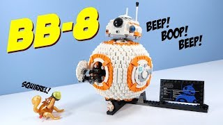 LEGO Star Wars The Last Jedi BB-8 Construction Set Speed Build Review 75187